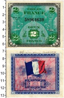 Изображение Банкноты Франция 2 франка 1944  XF