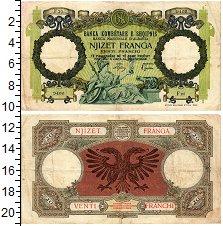 Изображение Банкноты Албания 20 франков 1939  VF