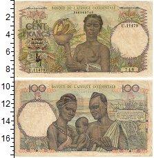 Изображение Банкноты Западная Африка 100 франков 1951  VF