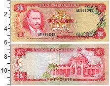 Изображение Банкноты Ямайка 50 центов 1960  VF