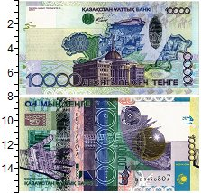 Изображение Банкноты Казахстан 10000 тенге 2006  UNC