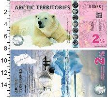 Изображение Банкноты Арктика 2 1/2 доллара 2013  UNC