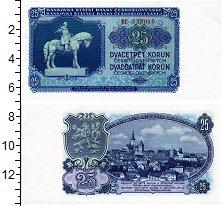 Изображение Банкноты Чехословакия 25 крон 1953  UNC
