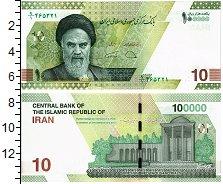 Изображение Банкноты Иран 100000 риалов 2021  UNC