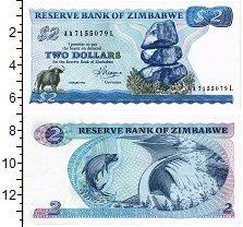 Изображение Банкноты Зимбабве 2 доллара 1963  UNC-
