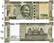 Изображение Банкноты Индия 500 рупий 2018  UNC