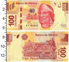 Изображение Банкноты Мексика 100 песо 2008  UNC