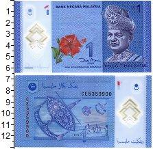Изображение Банкноты Малайзия 1 рингит 0 Пластик UNC Туанку Абдул Рахман.