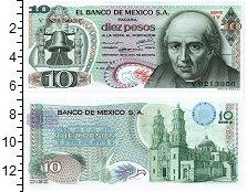 Изображение Банкноты Мексика 10 песо 1969  UNC