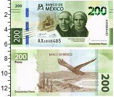 Изображение Банкноты Мексика 200 песо 2019  UNC