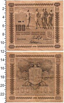 Изображение Банкноты Финляндия 100 марок 1922  VF+