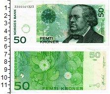 Продать Банкноты Норвегия 50 крон 2015