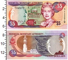 Изображение Банкноты Бермудские острова 5 долларов 2000  UNC