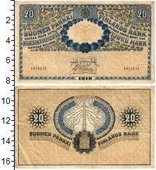 Изображение Банкноты Финляндия 20 марок 1918  XF-