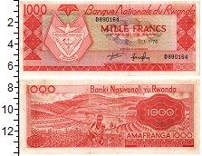 Продать Банкноты Руанда 1000 франков 1976