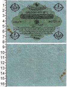 Изображение Банкноты Турция 5 пиастров 1914  XF