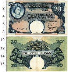 Изображение Банкноты Восточная Африка 20 шиллингов 1958  XF