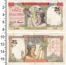 Изображение Банкноты Индокитай 20 пиастров 1949  XF