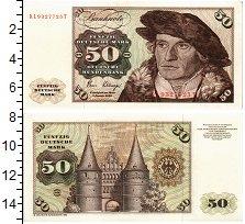 Изображение Банкноты ФРГ 50 марок 1980  UNC-