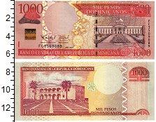 Изображение Банкноты Доминиканская республика 1000 песо 2011  UNC