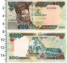 Изображение Банкноты Нигерия 200 найр 2017  UNC