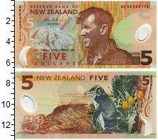 Изображение Банкноты Новая Зеландия 5 долларов 0  UNC