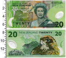 Изображение Банкноты Новая Зеландия 20 долларов 0  UNC Пластик. Портрет кор