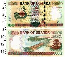 Изображение Банкноты Уганда 10000 шиллингов 2007  UNC