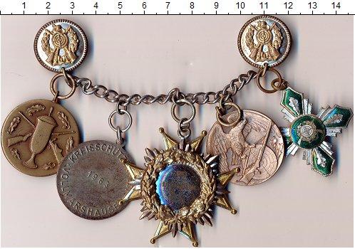 Изображение Значки, ордена, медали Германия Знак 1961 Бронза XF- Набор знаков,значков