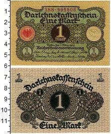 Изображение Банкноты Веймарская республика 1 марка 1920  UNC Берлин