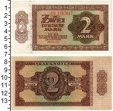 Изображение Банкноты ГДР 2 марки 1948  UNC