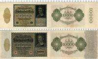 Продать Банкноты Веймарская республика 10000 марок 1922