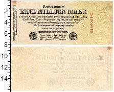 Изображение Банкноты Веймарская республика 1000000 марок 1923  XF Берлин