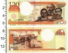 Изображение Банкноты Доминиканская республика 100 песо 2000  UNC