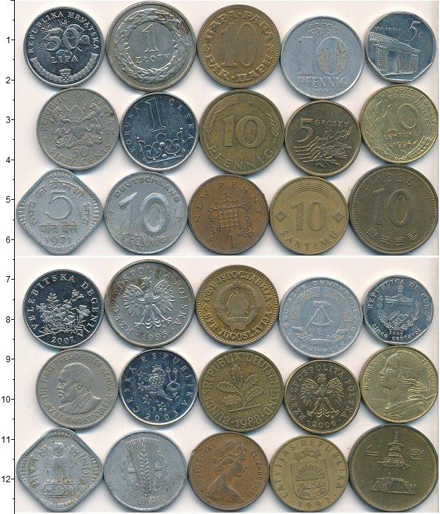 Изображение Лоты монет для начинающих нумизматов Монеты стран мира Лот №01798 0