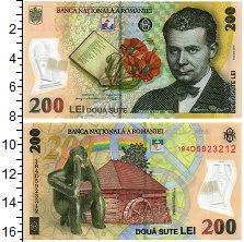 Продать Банкноты Румыния 200 лей 2018 Пластик