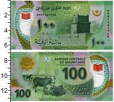 Изображение Банкноты Мавритания 100 угий 2017 Пластик UNC