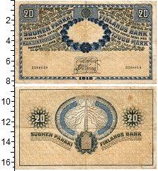 Изображение Банкноты Финляндия 20 марок 1918  VF+