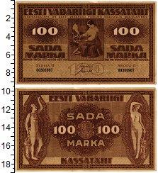 Изображение Банкноты Эстония 100 марок 1921  XF