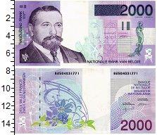 Изображение Банкноты Бельгия 200 франков 0  UNC-