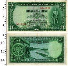 Изображение Банкноты Латвия 25 лат 1938  XF