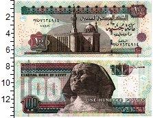 Изображение Банкноты Египет 100 фунтов 2006  UNC