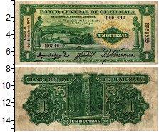 Изображение Банкноты Гватемала 1 кетцаль 1942  XF