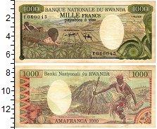 Продать Банкноты Руанда 1000 франков 1978