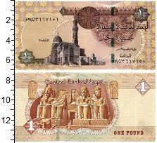 Изображение Банкноты Египет 1 фунт 2018  UNC