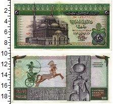 Изображение Банкноты Египет 20 фунтов 1976  XF