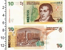 Продать Банкноты Аргентина 10 песо 0