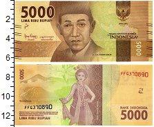 Изображение Банкноты Индонезия 5000 рупий 2016  UNC Д-р Идхам Чалид