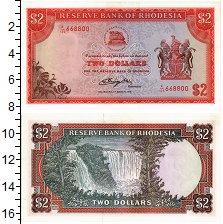 Изображение Банкноты Родезия 2 долларов 1976  UNC-