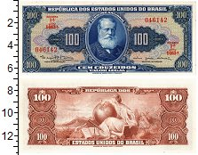 Изображение Банкноты Бразилия 100 крузейро 0  XF